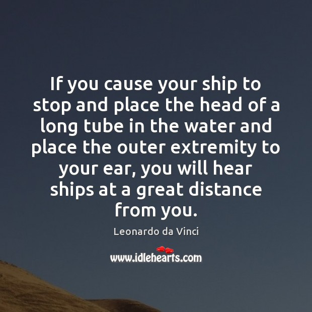 If you cause your ship to stop and place the head of Image