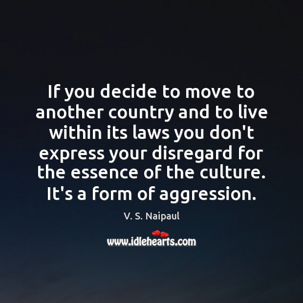 If you decide to move to another country and to live within Image