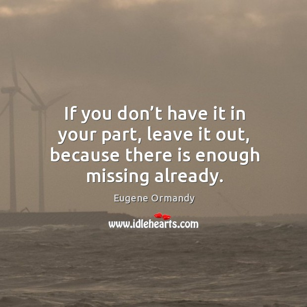 Image, If you don't have it in your part, leave it out, because there is enough missing already.