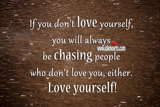 Always remember to love yourself first! Image