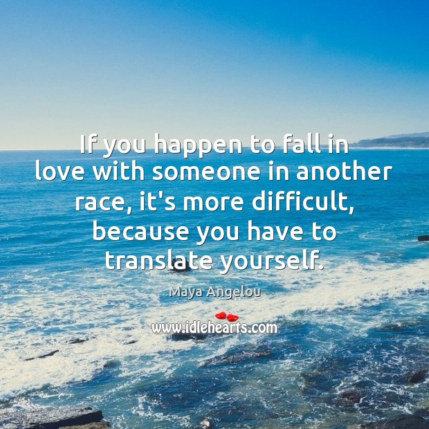 Image, If you happen to fall in love with someone in another race,