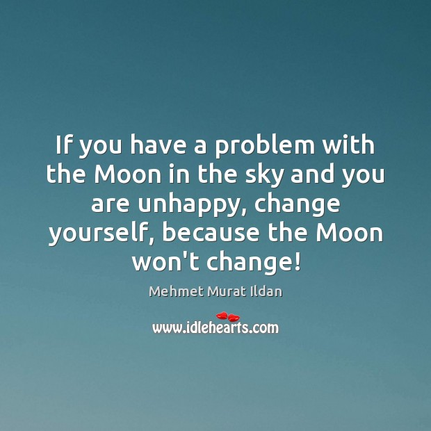 Image, If you have a problem with the Moon in the sky and