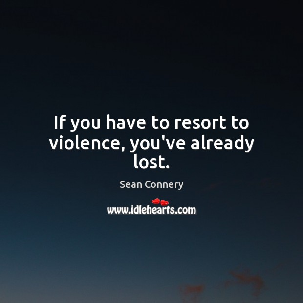 Picture Quote by Sean Connery