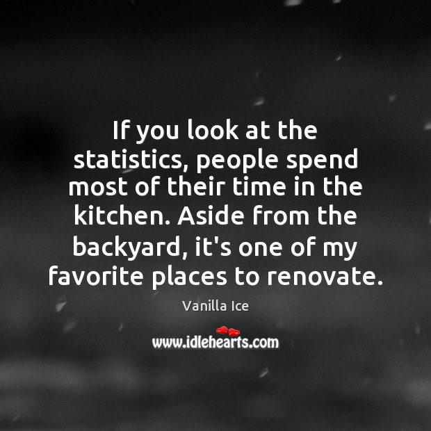 Image, If you look at the statistics, people spend most of their time