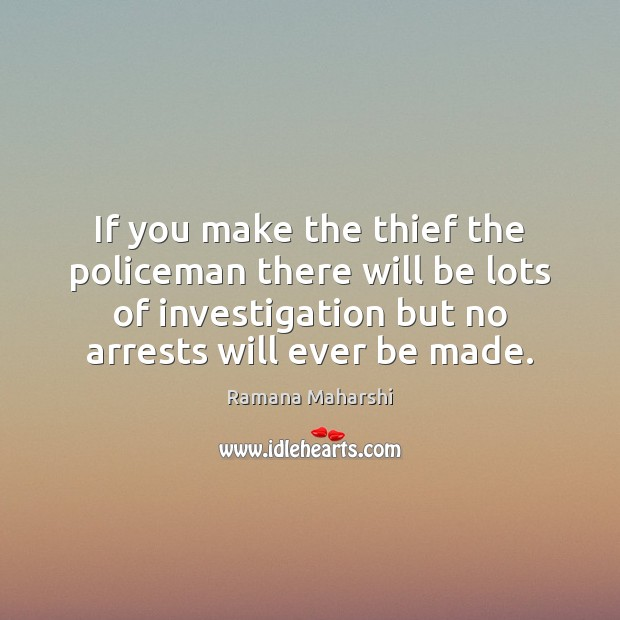 If you make the thief the policeman there will be lots of Image