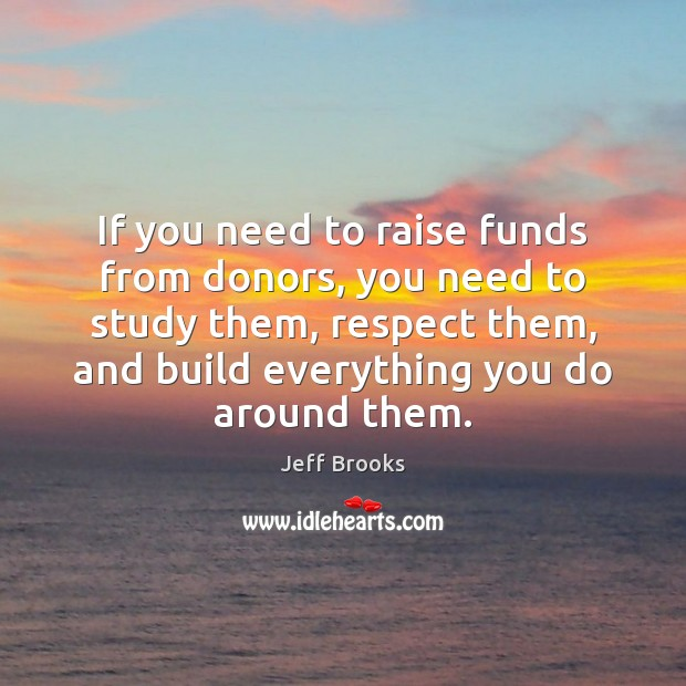 If you need to raise funds from donors, you need to study Image