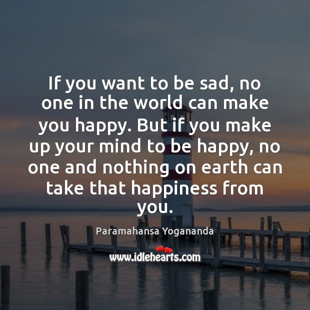 If you want to be sad, no one in the world can Image