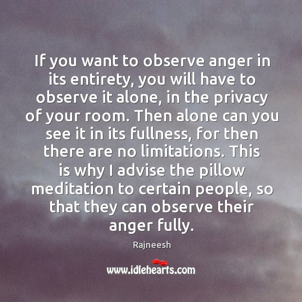 If you want to observe anger in its entirety, you will have Image