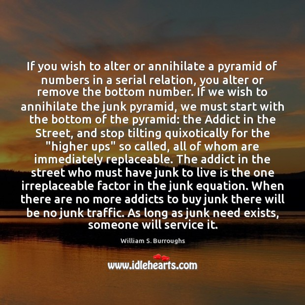 Image, If you wish to alter or annihilate a pyramid of numbers in