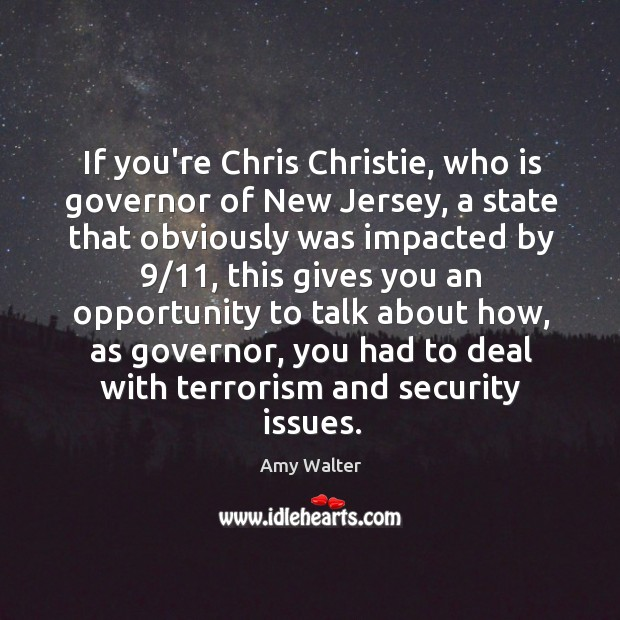 Image, If you're Chris Christie, who is governor of New Jersey, a state