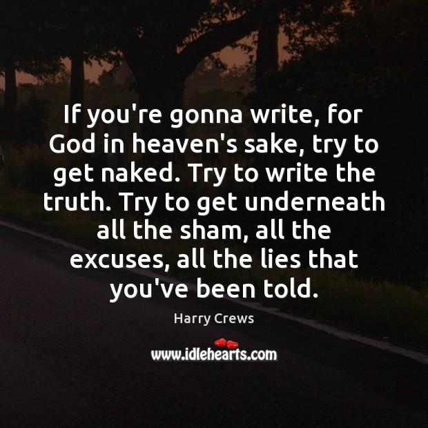 Truth naked essay