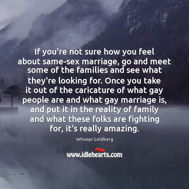 If you're not sure how you feel about same-sex marriage, go and Image