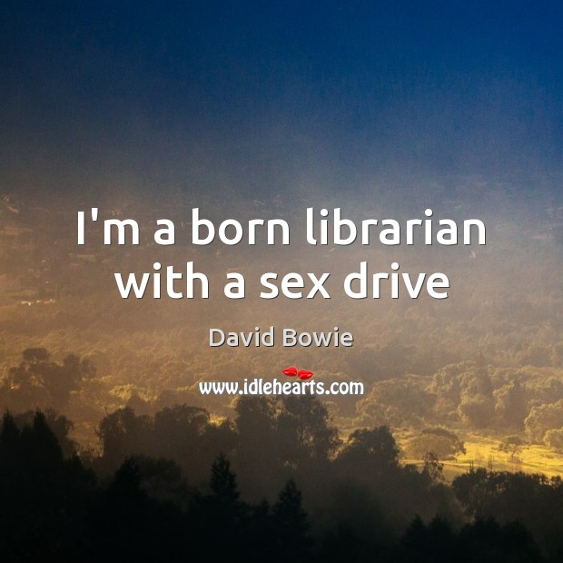 Image, I'm a born librarian with a sex drive