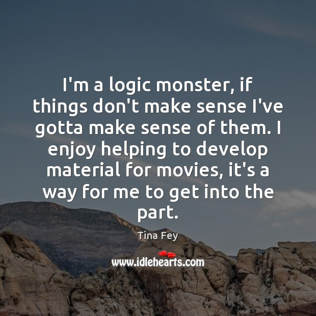 Image, I'm a logic monster, if things don't make sense I've gotta make