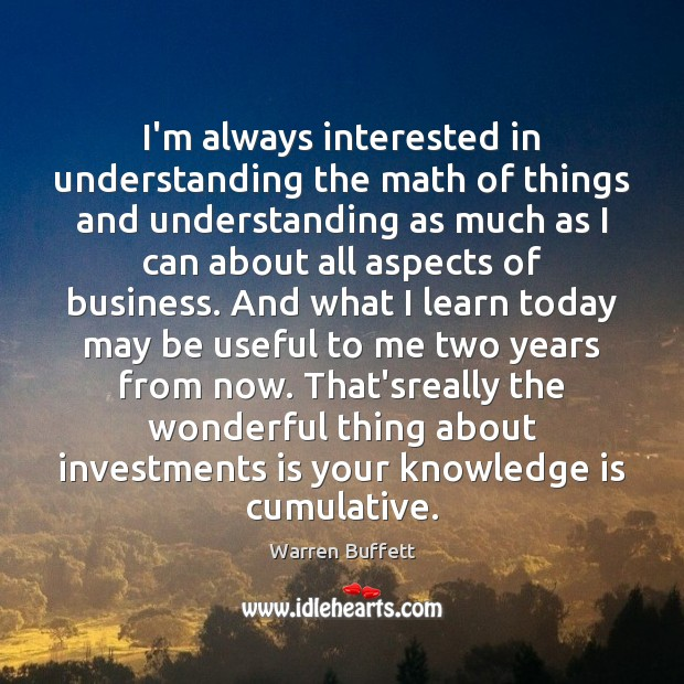 Image about I'm always interested in understanding the math of things and understanding as