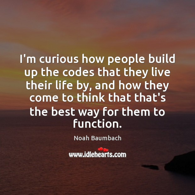 I'm curious how people build up the codes that they live their Image