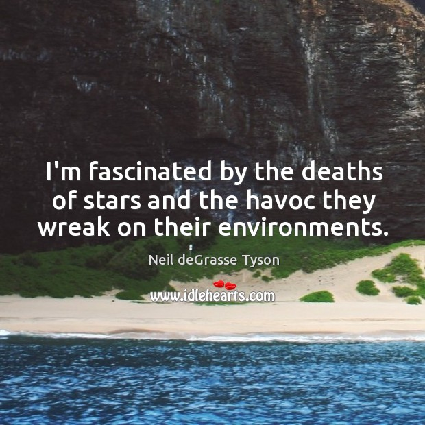 I'm fascinated by the deaths of stars and the havoc they wreak on their environments. Image