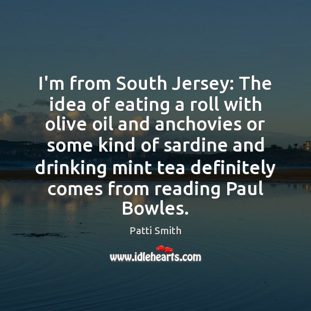 I'm from South Jersey: The idea of eating a roll with olive Image
