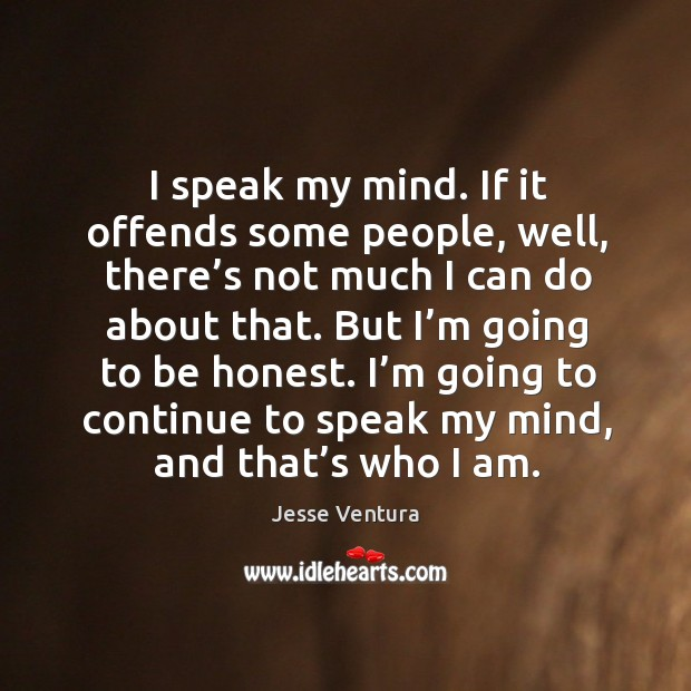 Picture Quote by Jesse Ventura