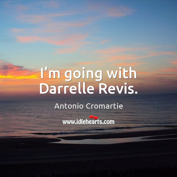 Image, I'm going with Darrelle Revis.
