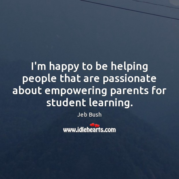 I'm happy to be helping people that are passionate about empowering parents Image