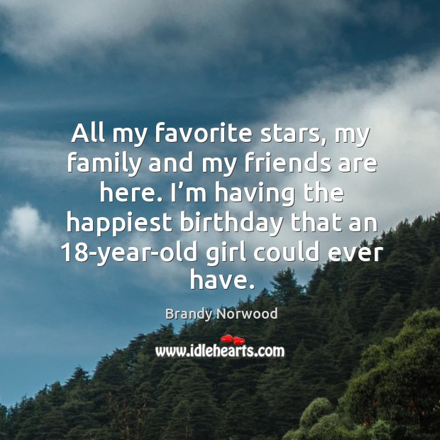 Image about I'm having the happiest birthday that an 18-year-old girl could ever have.