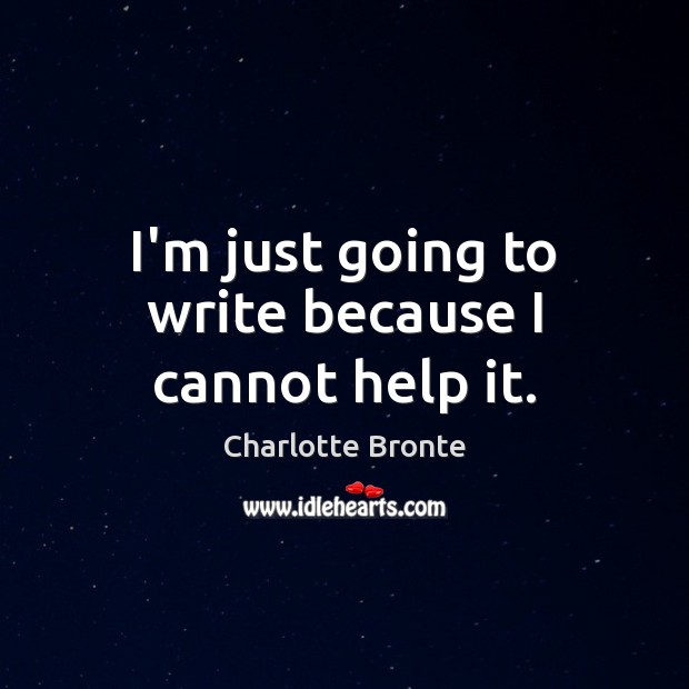 I'm just going to write because I cannot help it. Image