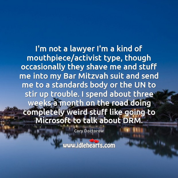 Image, I'm not a lawyer I'm a kind of mouthpiece/activist type, though