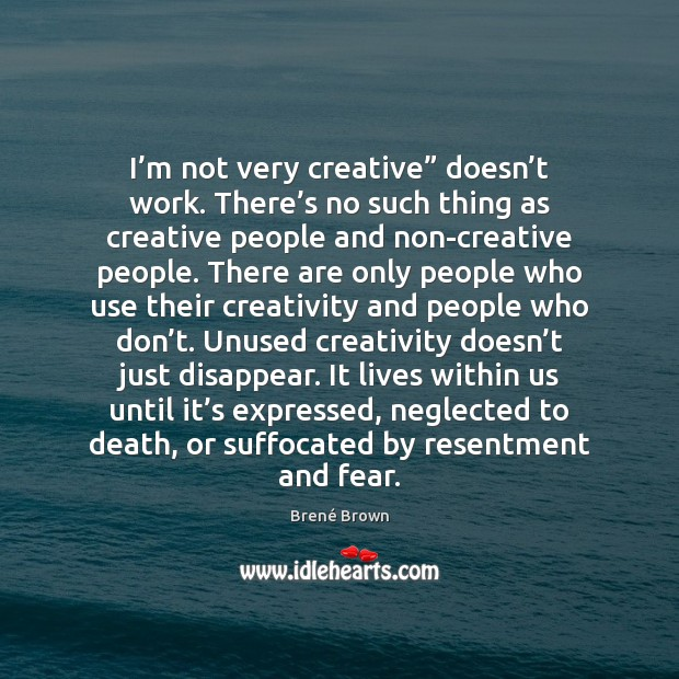 """I'm not very creative"""" doesn't work. There's no such Image"""