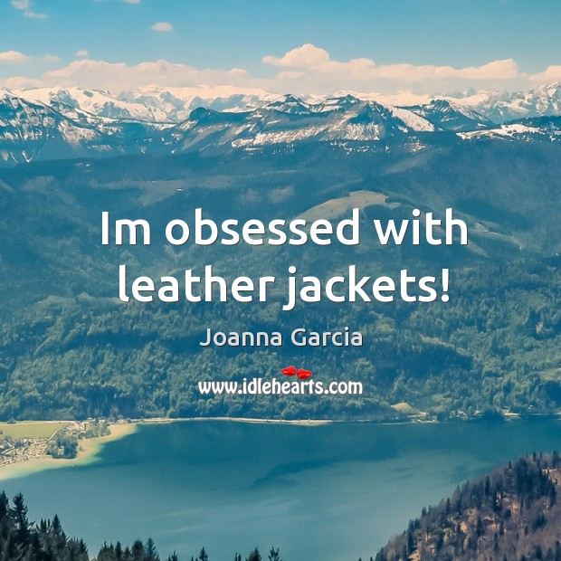 Im obsessed with leather jackets! Image