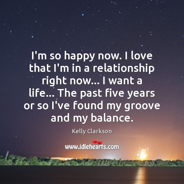I'm so happy now. I love that I'm in a relationship right Image