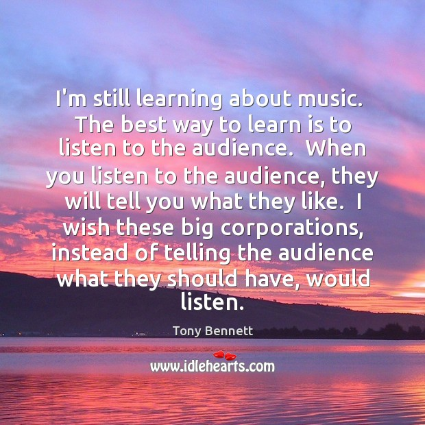Image, I'm still learning about music.  The best way to learn is to