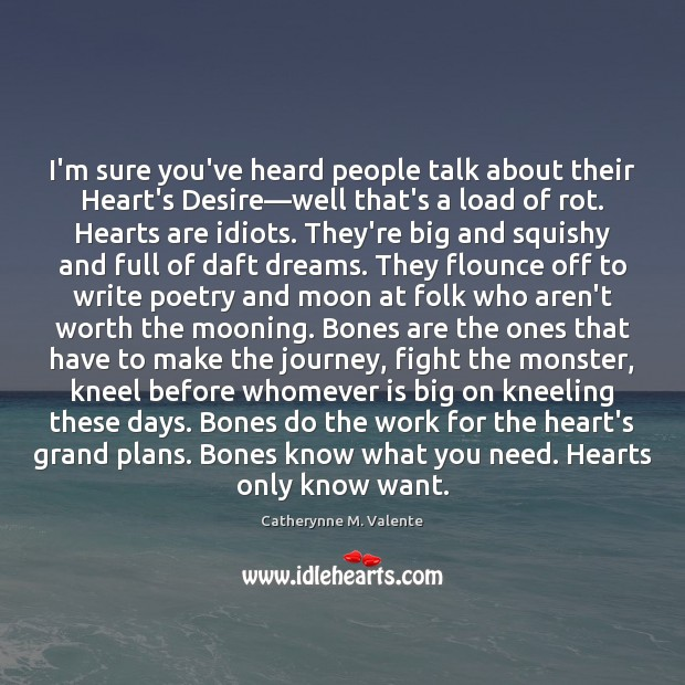 I'm sure you've heard people talk about their Heart's Desire—well that's Image