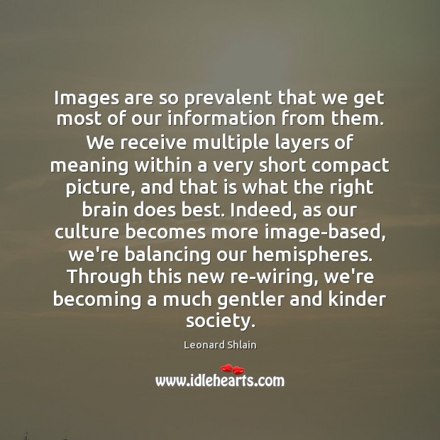 Image, Images are so prevalent that we get most of our information from