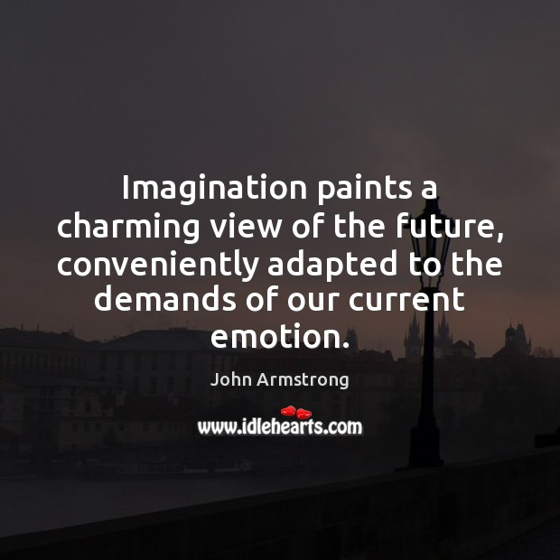 Image, Imagination paints a charming view of the future, conveniently adapted to the