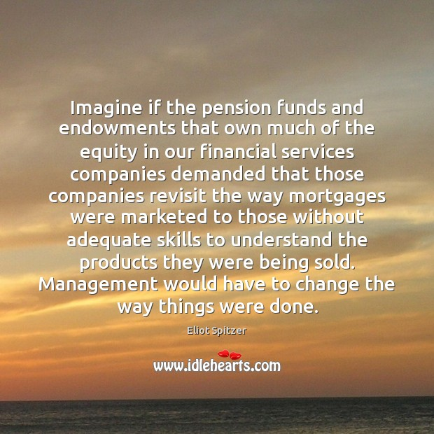 Imagine if the pension funds and endowments that own much of the Image