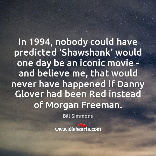 Image, In 1994, nobody could have predicted 'Shawshank' would one day be an iconic