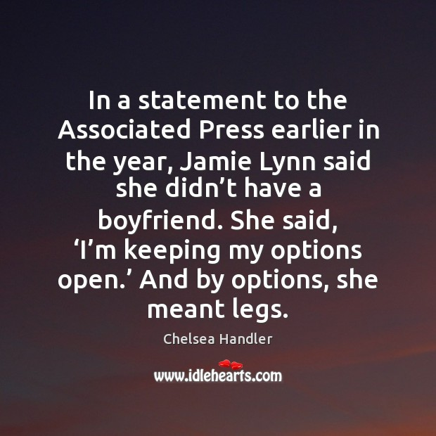 In a statement to the Associated Press earlier in the year, Jamie Image