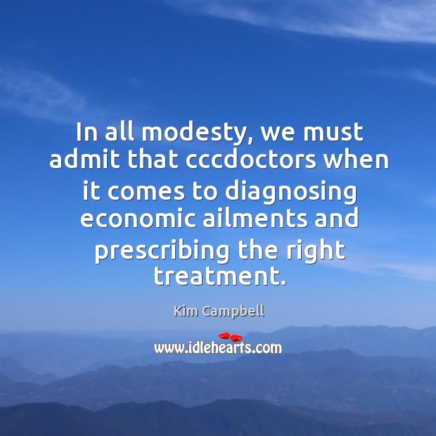 In all modesty, we must admit that cccdoctors Image