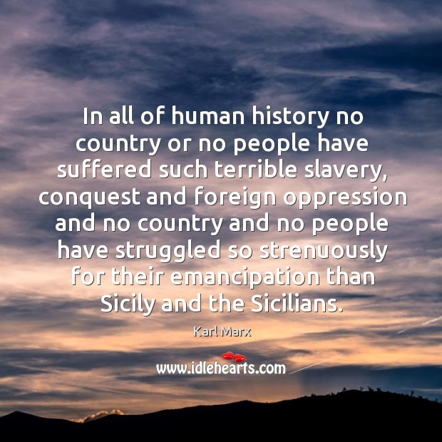 In all of human history no country or no people have suffered Image