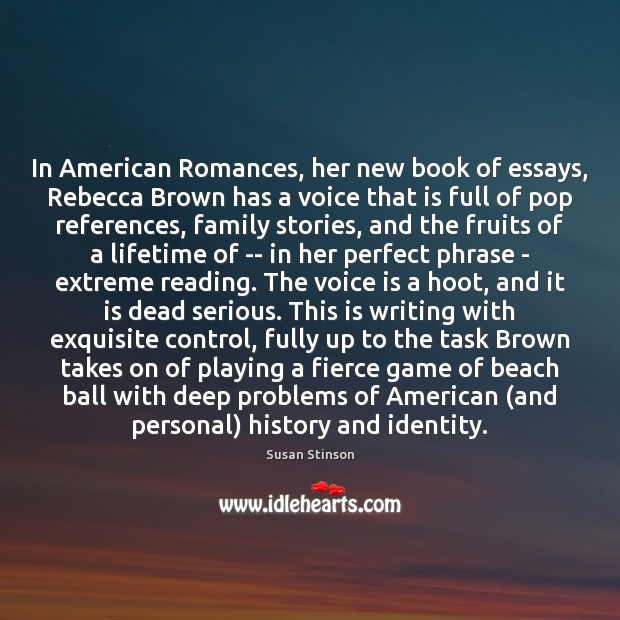 essays on the book rebecca Women told me they had flashbacks to hideous episodes in their past after the second presidential debate on 9 october, or couldn't sleep, or had nightmares.