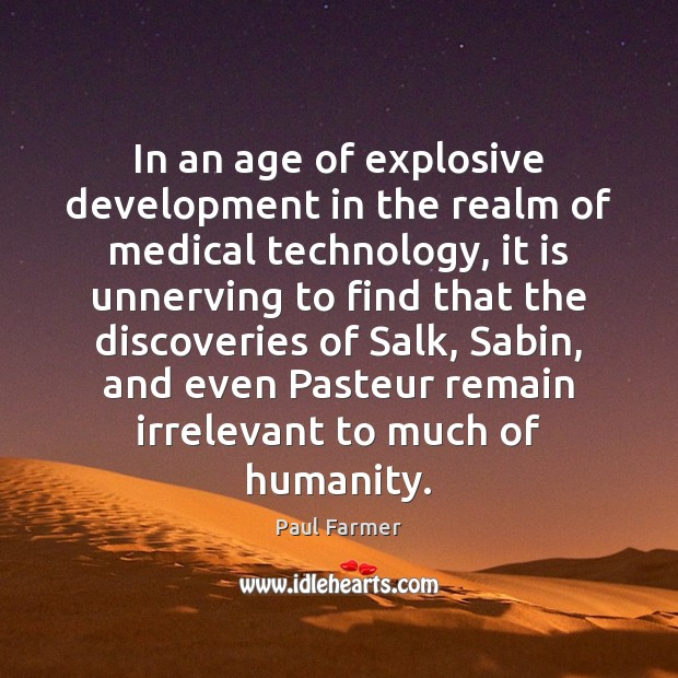Image, In an age of explosive development in the realm of medical technology,