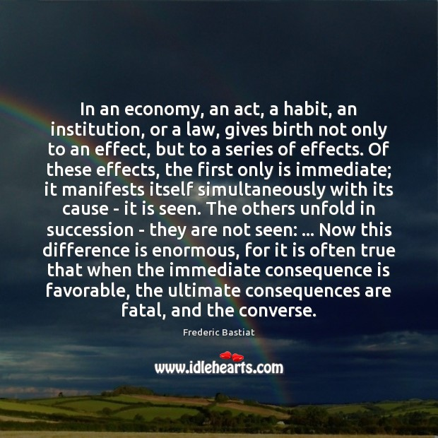 In an economy, an act, a habit, an institution, or a law, Image