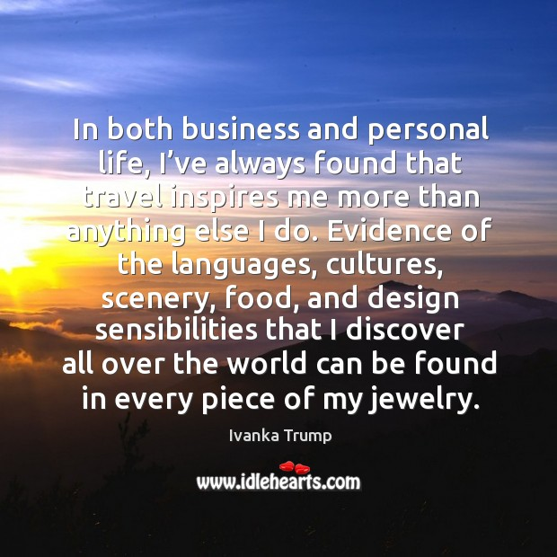 In both business and personal life Image