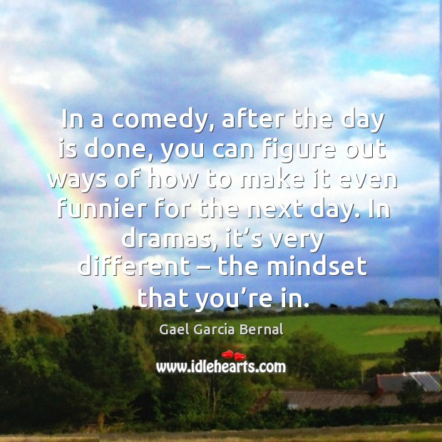 Picture Quote by Gael Garcia Bernal