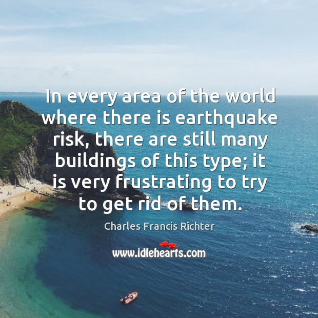 Image, In every area of the world where there is earthquake risk, there are still many buildings of this