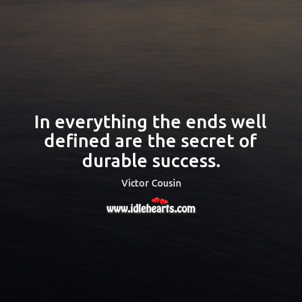 Picture Quote by Victor Cousin