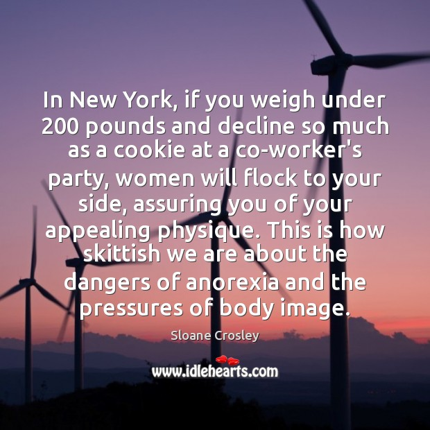 Image, In New York, if you weigh under 200 pounds and decline so much