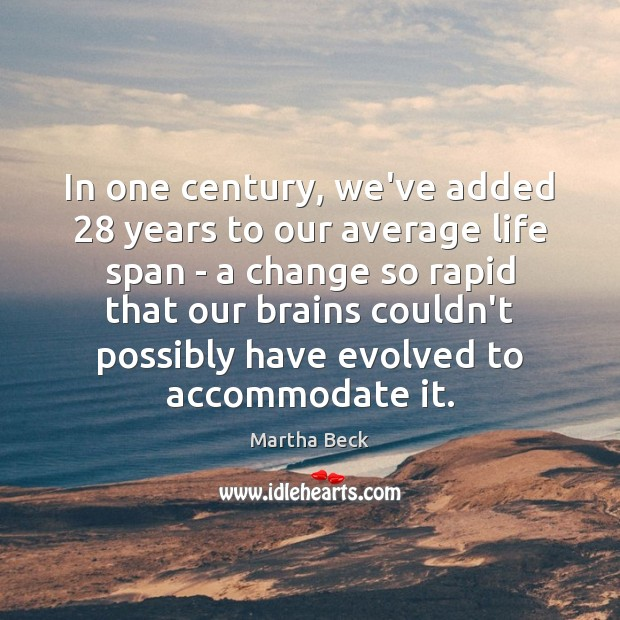 In one century, we've added 28 years to our average life span – Image