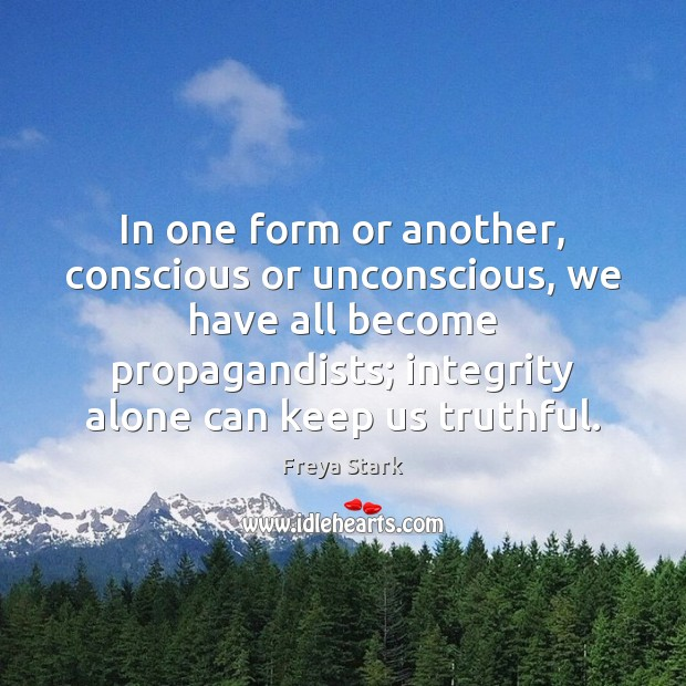 In one form or another, conscious or unconscious, we have all become Image